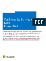 MicrosoftOnlineServicesTerms(WW)(French)(February2021)(CR)