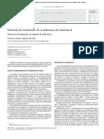 protocolo de tratamiento de la deficiencia de vitamina D