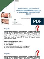 Tema 1_Identificación y Notificación de ESAVI