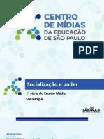 CMSP-Socialização e Poder
