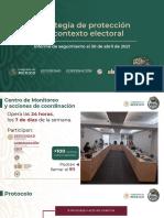 Violencia política en elecciones 2021