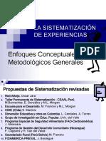 Sistematización-Enfoques generales-MBY-Octubre2006-m
