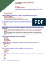 CCNA4 v 4.0 Exam chapter 6 Teleworking