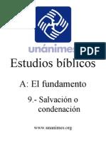 A.09.- Salvacion o Condenacion