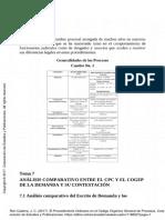 Análisis Comparativo Entre El CPC y El COGEP de La Demanda y Su Contestación