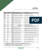 PM210 - LISTA DE REGISTROS MODBUS
