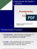 AED1 13 LingC Procedimentos Funcoes_Raulzinho.cb