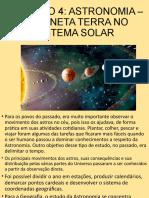 Capítulo 4 - Astronomia
