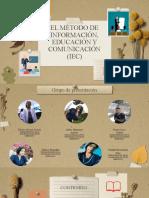 Método de Información, Educación y Comunicación Iec