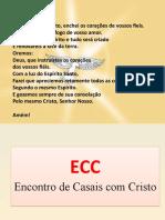 Apresentação Estrutura ECC Versão 2019
