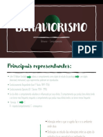 Aula Behaviorismo