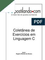 Coletânea de exercicios resolvidos em liguagem C_Raulzinho.cb