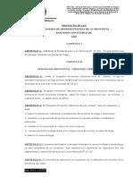 Adhesion a La Ley Nacional 26.216 y Crea El Programa Provincial Misiones Libre de Armas