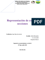 Representación de cortes y secciones