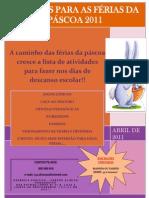 Projecto Férias da Páscoa 2011