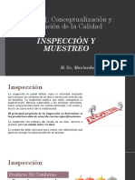 3. Inspección y Muestreo (Te)