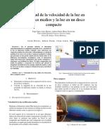 Lab 9. Ley de refracción