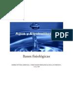 Bases Fisiológicas Agua