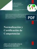 Normalización y Certificación de Competencias Rl