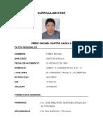 CURRICULUM VITAE FREDY SANTOS ANGULO