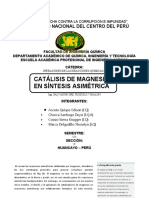 Proyecto - Catalisis de Magnesio en Sintesis Asimetrica