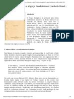 Dialogizar - Blog Do Guilherme Freitas_ O Hinário Evangélico e a Igreja Presbiteriana Unida Do Brasil - IPU
