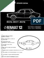 Manual Despiece Renault 12