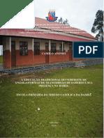 A  EDUCAO TRADICIONAL DO NOROESTE DE ANGOLA FORMAS DE TRANSMISSO DE  SABERES E SUA PRESENA NA BAHIA