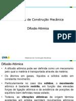 2021.1 - Mat Const. Mec - 2 - Difusão Atomica