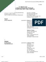 PESANTE v. BOMBARDIER TRANSPORTATION Docket