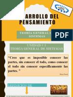 DESARROLLO DEL PENSAMIENTO-diapositivas
