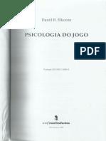 Elkonin Psicologia Do Jogo Portugues