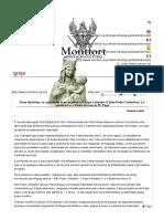Duas histórias_ os espirituais franciscanos e o Papa Celestino V (São Pedro Celestino), e o quietismo e o Beato Inocêncio XI, Papa - MONTFORT