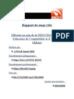 Rapport de stage S6 ANSAR Imad