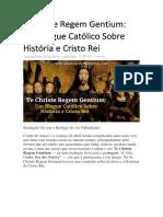 e Christe Regem Gentium