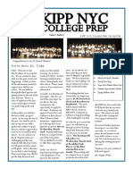 KIPP NYC CP March Newsletter