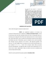6. CAS. 1343 2017. Inf. Violacion Sexual. Jurisdiccion Ordinaria y Comunal