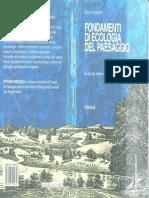 Fondamenti Di Ecologia - Vittorio Ingegnoli