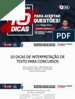 10 Dicas de Interpretação de Texto - Diogo Alves