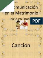 La Comunicación en El Matrimonio