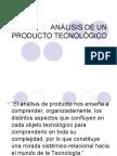 ANÁLISIS DE UN PRODUCTO TECNOLÓGICO 5to.Básico
