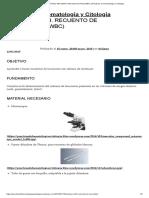 PRÁCTICA Nº23. RECUENTO DE LEUCOCITOS (WBC) _ Prácticas de Hematología y Citología