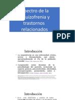 Clase de Esquizofrenia. Psicopatología UMAX