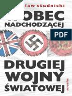 Studnicki Władysław - Wobec nadchodzącej drugiej wojny światowej [1939]