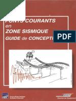 Livre - PONTS COURANTS EN ZONE SISMIQUE - Setra 2000 (1)