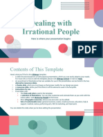 Dealing With Irrational People by Slidesgo