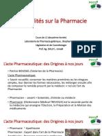 Généralités Sur La Pharmacie-L2