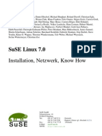 Handbuch - Suse Linux 7