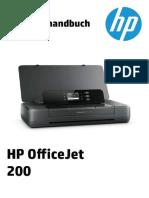 HP Officejet 200 Mobile Manual