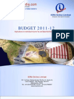 ICRON Union Budget Analysis-2011-12